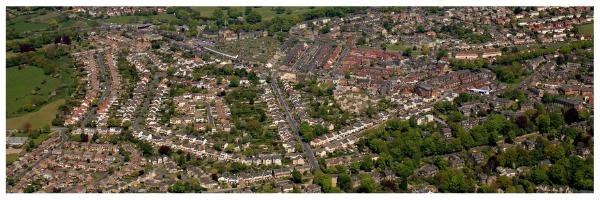 Aerial photo of Horsforth - Copright AeroEngland.co.uk